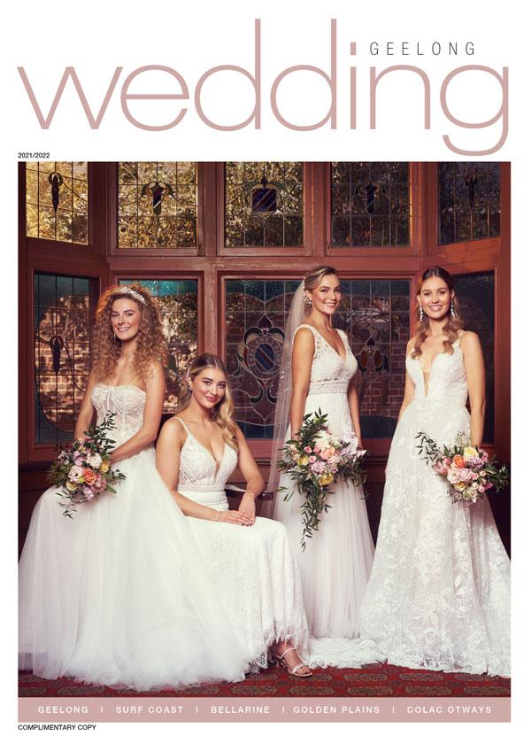 2019 Living Bliss Wedding Magazine cover